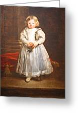 Van Dyck's Maddalena Cattaneo Greeting Card