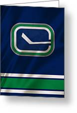Vancouver Canucks Uniform Greeting Card