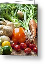Vegetables Greeting Card by Elena Elisseeva
