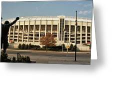 Veterans Stadium Greeting Card