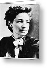 Victoria Claflin Woodhull (1838-1927) Greeting Card