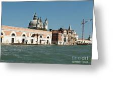 View On Venice Greeting Card
