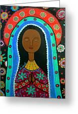 Virgin Guadalupe Greeting Card