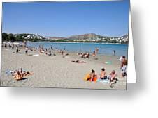 Vouliagmeni Beach Greeting Card