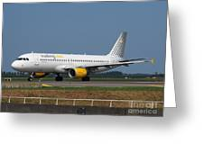 Vueling Airbus A320 Greeting Card