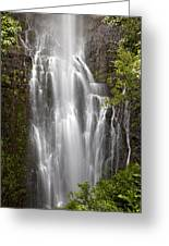 Wailua Falls II Greeting Card