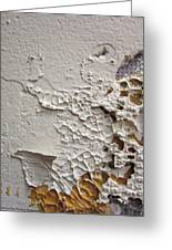Wall Abstract Greeting Card