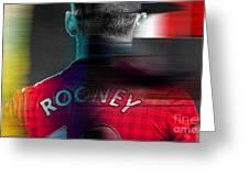 Wayne Rooney Greeting Card