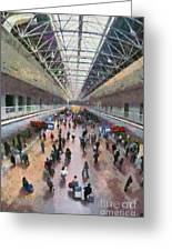 West Railway Station In Beijing Greeting Card