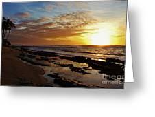 Westside Sunset Greeting Card