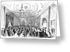 White House Reception Greeting Card