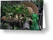Wild Strawberries Greeting Card