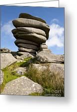 Windswept Stones Greeting Card