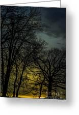 Winter Solstice Sunrise Greeting Card