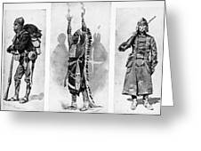Wounded Knee, 1890 Greeting Card