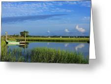 Wrightsville Beach Marsh Greeting Card