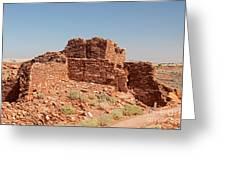 Wupatki Pueblo In Wupatki National Monument Greeting Card