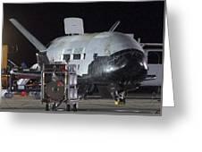 X-37b Orbital Test Vehicle, Post-landing Greeting Card
