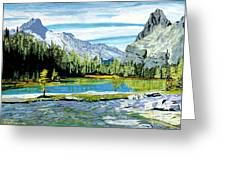 Yoho Valley Greeting Card by David Skrypnyk