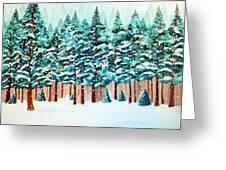 Yosemite Winter Greeting Card