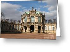 Zwinger - Dresden - Germany Greeting Card
