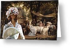 Dachshund Art Canvas Print  Greeting Card