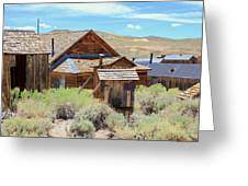 Bodie California Greeting Card
