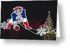 New England Patriots Greeting Card