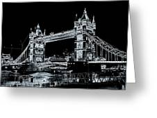 Tower Bridge Art Greeting Card