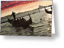 Venice In Italy Greeting Card