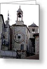 Views Of Split Croatia Greeting Card