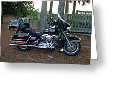 2002 Electra Glide Classic Greeting Card by Bruce Kessler
