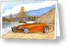 2002 Plymouth Prowler Greeting Card
