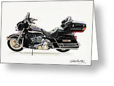 2003 Harley Davidson Greeting Card