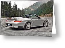 2004 Porsche 911 Turbo Cabriolet Greeting Card