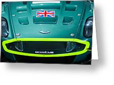 2005 Aston Martin Dbr9 Greeting Card