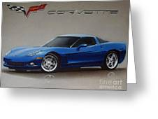 2005 Corvette Greeting Card