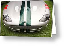 2005 Jaguar Xkr Stirling Moss Signature Edition Greeting Card