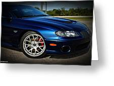 2005 Mbm Pontiac Gto Greeting Card