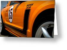 2007 Ford Mustang Saleen Boss 302 Greeting Card