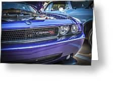 2008 Dodge Challenger Rt Greeting Card