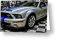 2008 Ford Mustang Shelby Greeting Card