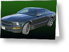 2008 Mustang Bullitt Greeting Card