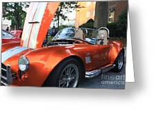 2009 Cobra Front And Side View Greeting Card by John Telfer