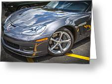 2010 Chevy Corvette Grand Sport Hdr Greeting Card