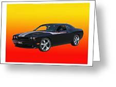 2010 Dodge Challenger Greeting Card