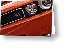 2011 Dodge Challenger R/t Greeting Card