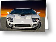 2011 Ford Gt II Greeting Card