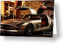 2011 Mercedes-benz Sls Amg Gullwing Greeting Card