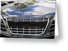 2012 Audi R8 Quattro Greeting Card